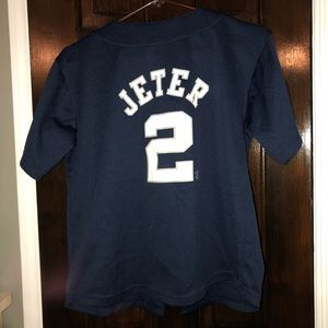 Genuine Merchandise Shirts   Tops - Boy s Derek Jeter Jersey b3626aaba6a
